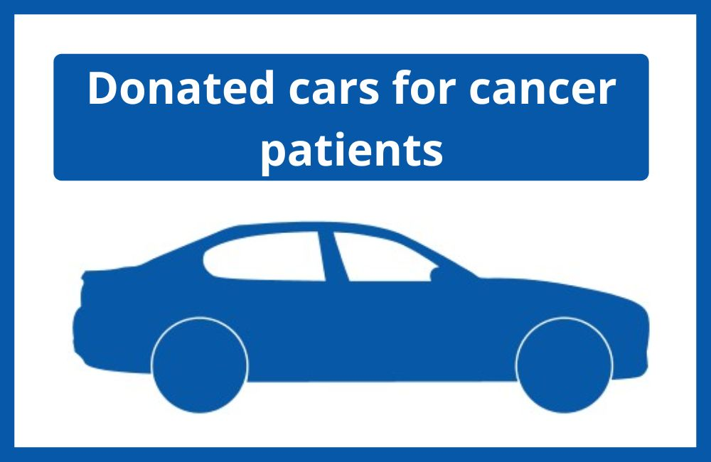 Donated cars for cancer patients